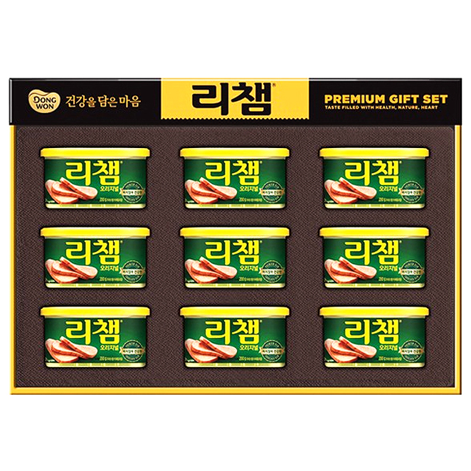 리챔 오리지널 선물세트 6호 + 쇼핑백, 1세트