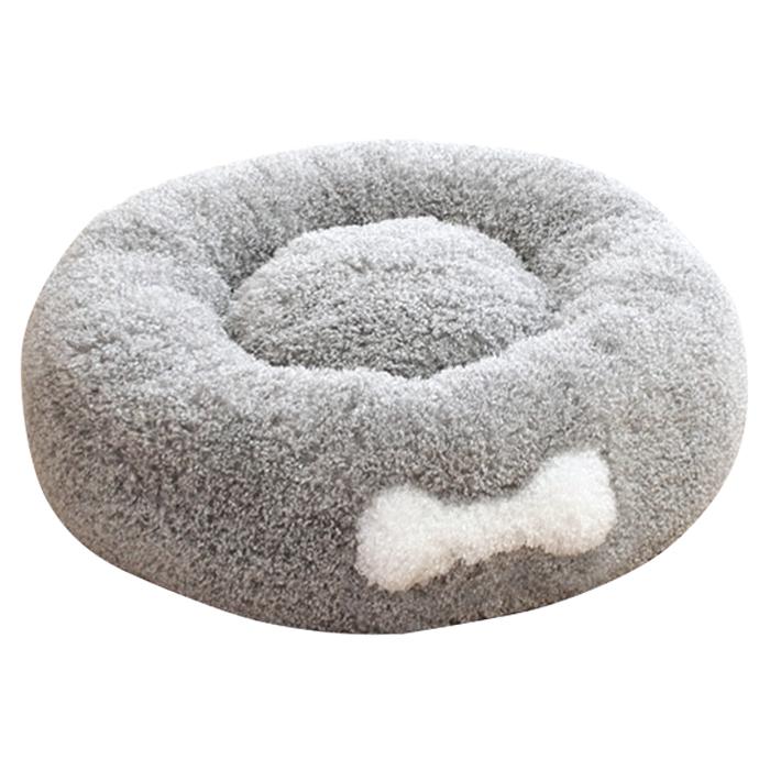 K CH1101546 강아지 도넛 방석 그레이 L/애견용품/강아지용품/애완견용품/애견방석