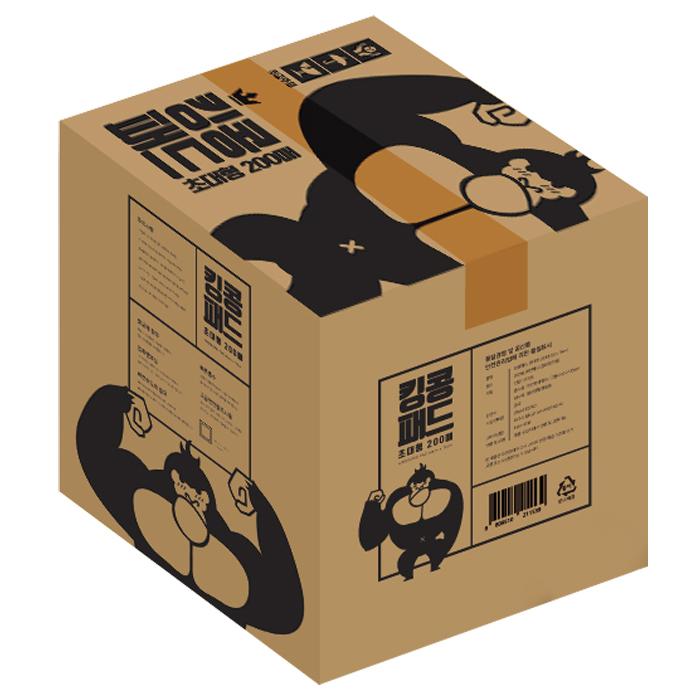 웁스 킹콩 반려견 배변패드 45g 초대형 60 x 76 cm 200매, 1개