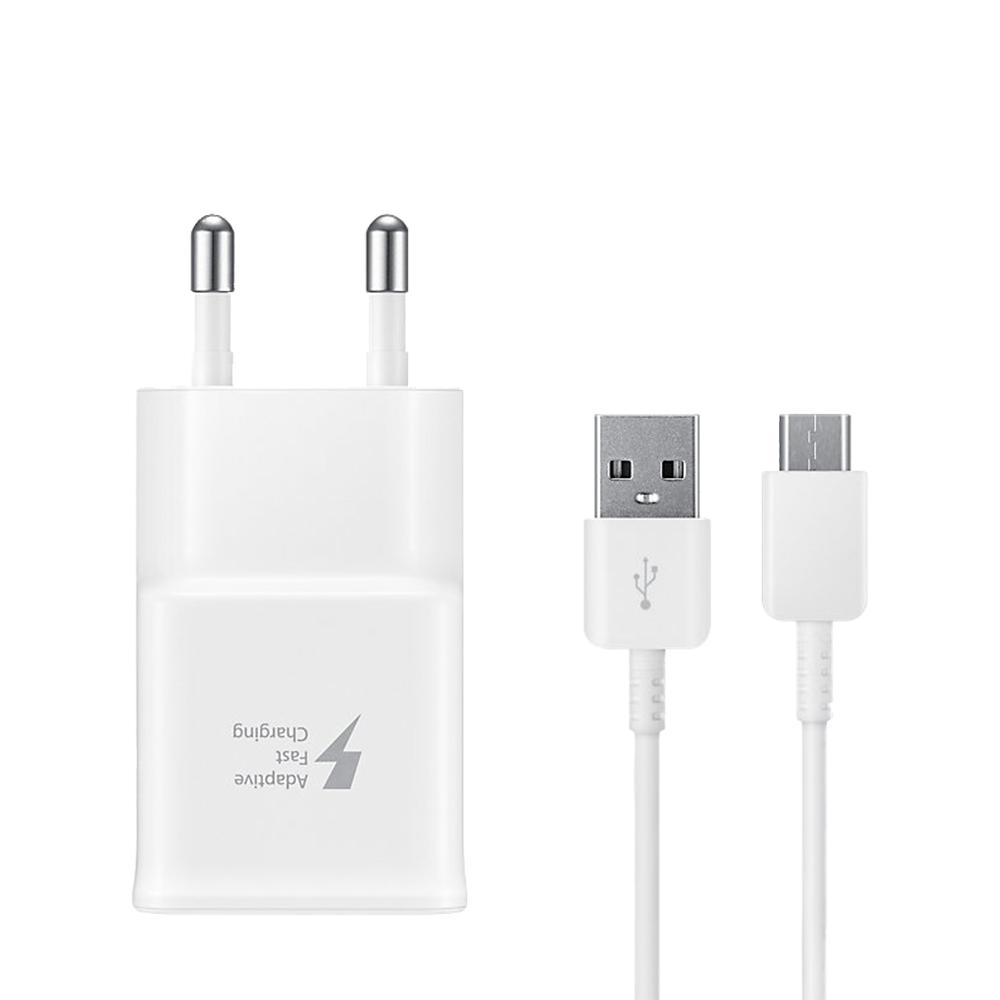 삼성전자 USB C타입 급속 여행용 핸드폰충전기 EP-TA20, 화이트, 1개