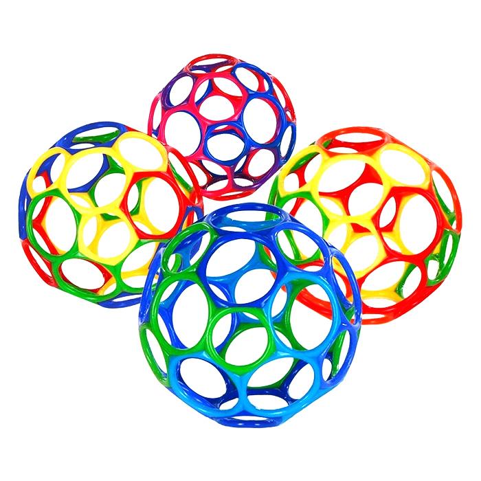 (리노토이)오볼 Oball (소) -랜덤배송 캐릭터볼 공놀이, 본상품선택