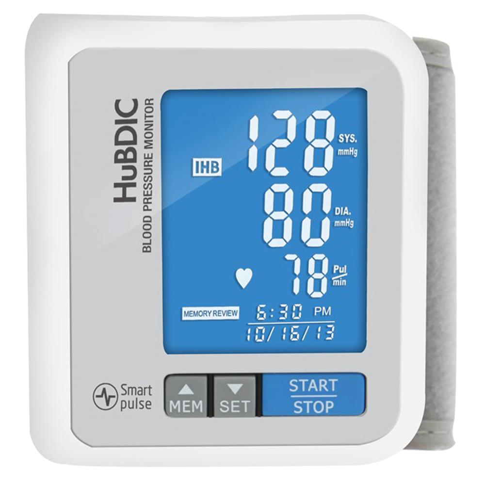 휴비딕 비피첵 손목형 혈압계 HBP-700 화이트, 1개