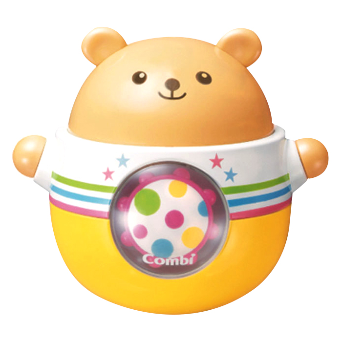 콤비 둥글둥글 곰돌이 오뚝이 혼합 색상