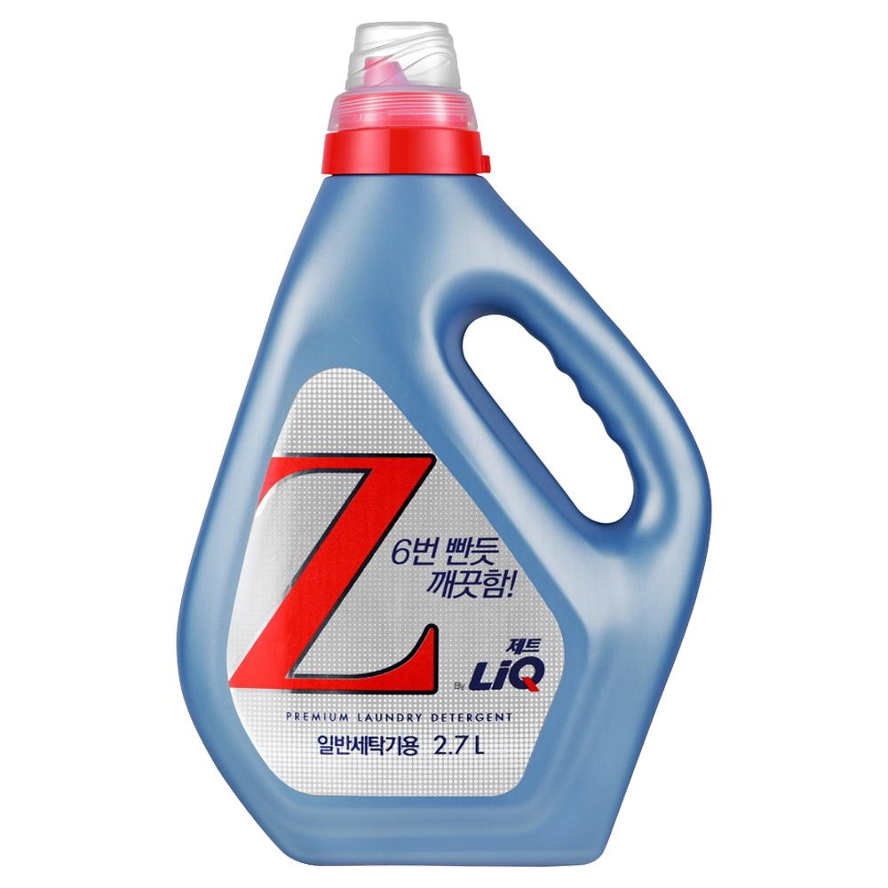 리큐 제트 일반세탁기용 액상세제 본품, 2.7L, 1개