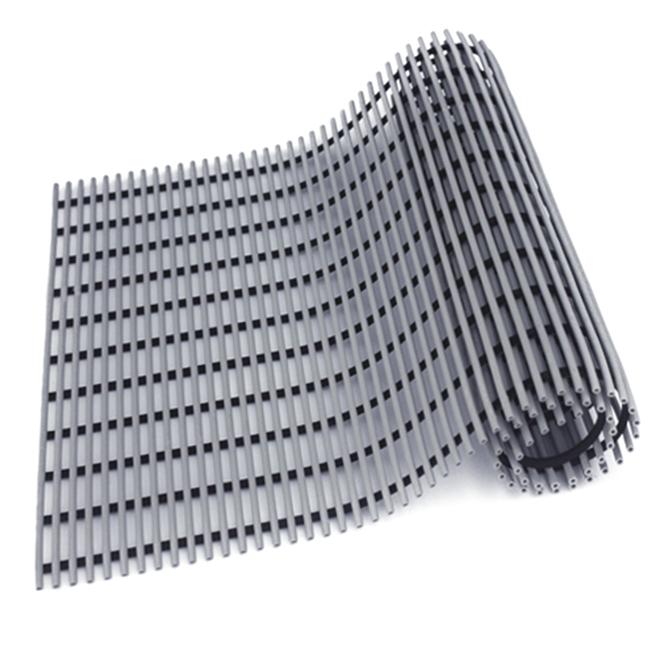 월광매트 고급형 미끄럼 방지 매트 90 x 100 cm, 회색, 1개