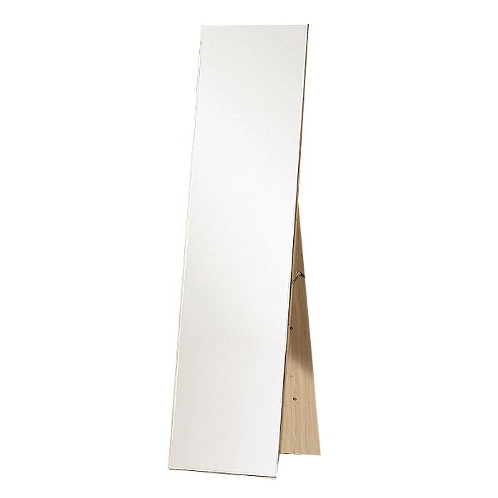 우드웰 스탠드형 패션 전신거울 300 x 1560 mm, 워시