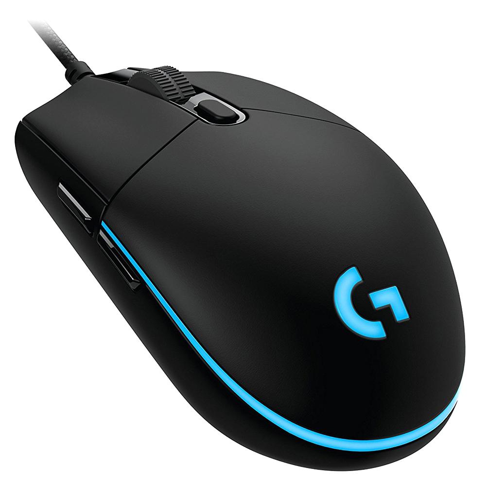 로지텍 유선 게이밍 마우스 G PRO, 혼합 색상