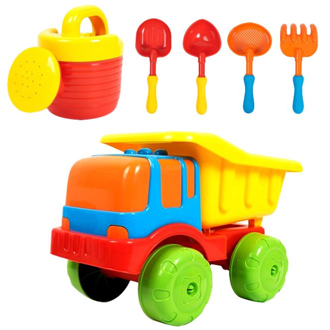 비앤씨 아이와 트럭모래놀이세트, 혼합색상, 본상품선택