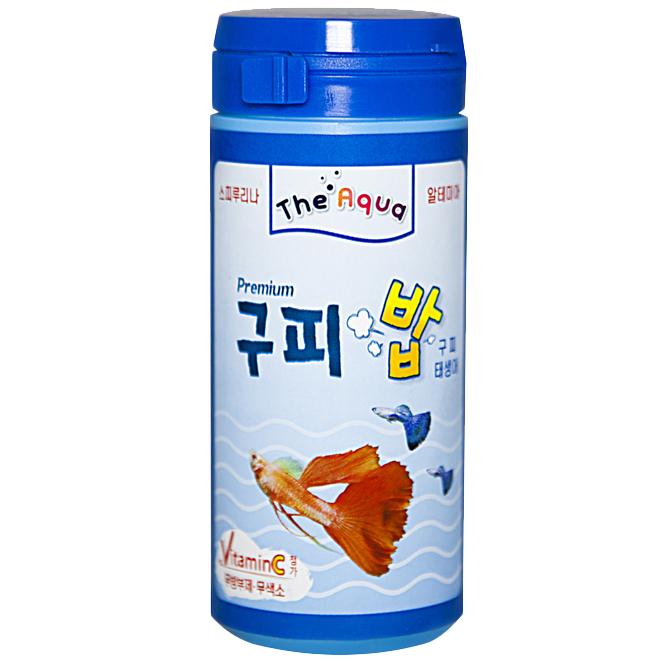 아쿠아플러스 구피 프리미엄밥, 50g, 1개