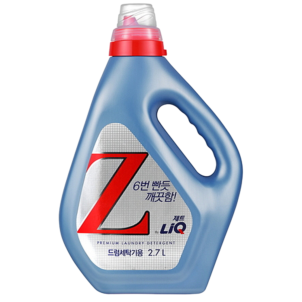 리큐 제트 드럼세탁기용 액상세제 본품, 2.7L, 1개
