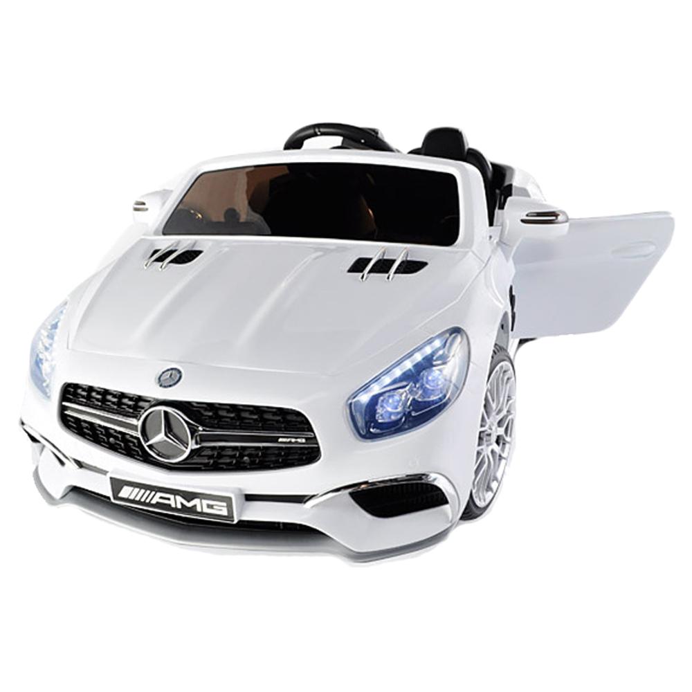 대호토이즈 유아용 벤츠 전동차 SL65 AMG, 화이트