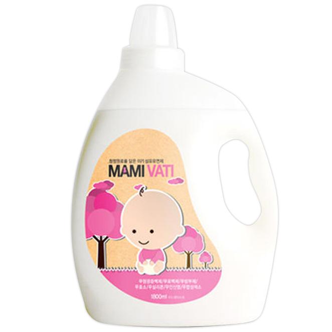 마미바티 아기 섬유유연제, 1800ml, 1개