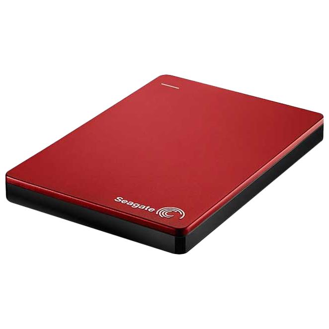 씨게이트 백업 플러스 S 포터블 드라이브 외장하드 STDR1000300, 1TB, 레드