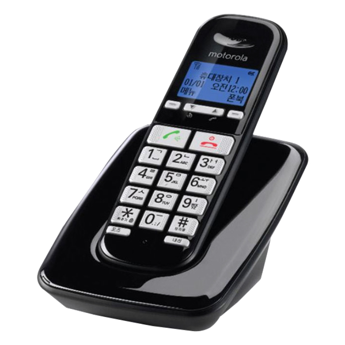 모토로라 무선 전화기 S3001A, S3001A(블랙)