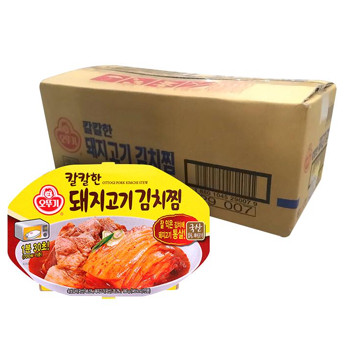 오뚜기 즉석 칼칼한 돼지고기 김치찜, 180g, 12개