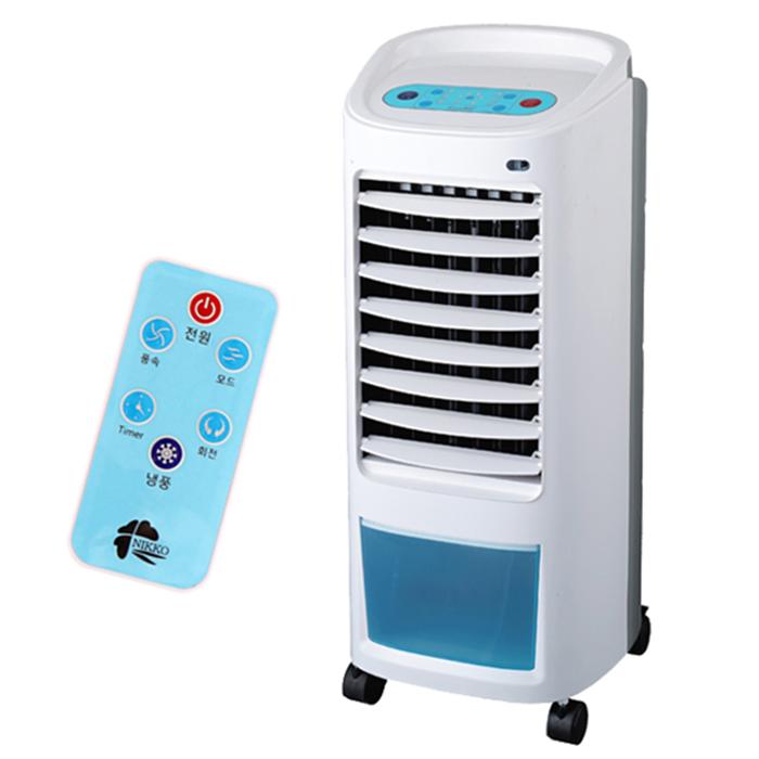 니코 리모컨 전자식 냉풍기, NKF-1070