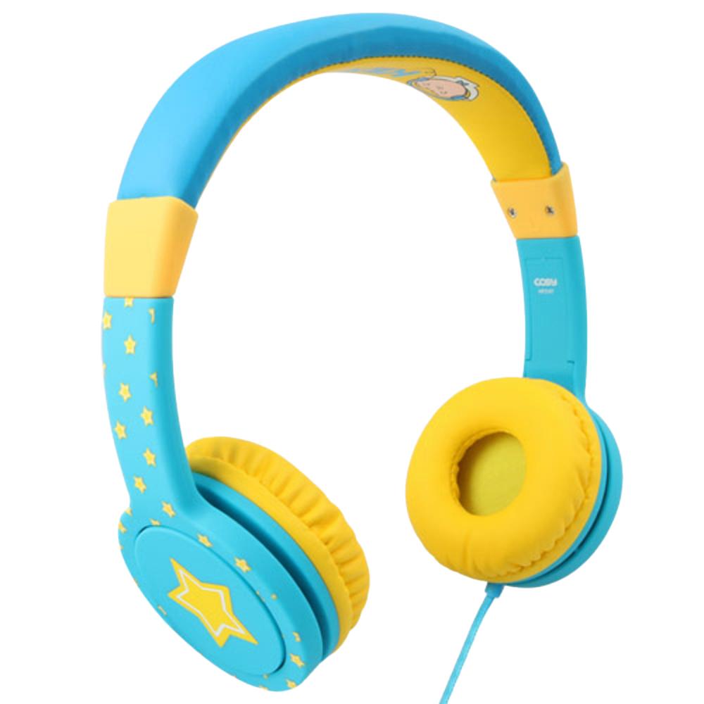 코시 아동용 롤리 청력보호 헤드폰, HP3197, 블루