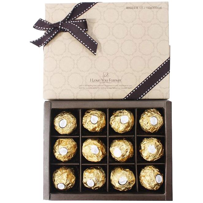 페레로로쉐 초콜릿 12T 선물세트, 150g, 1세트