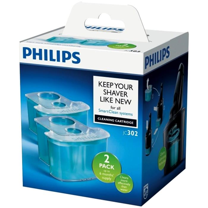 필립스 전기면도기 스마트클린 시스템용 세척 카트리지 세정액, JC302/51