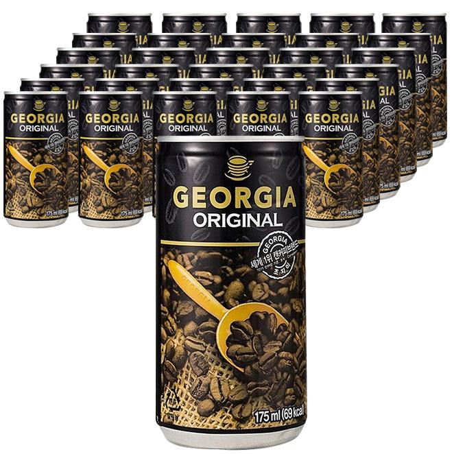 조지아 오리지널 미니캔 커피 175ml, 60개