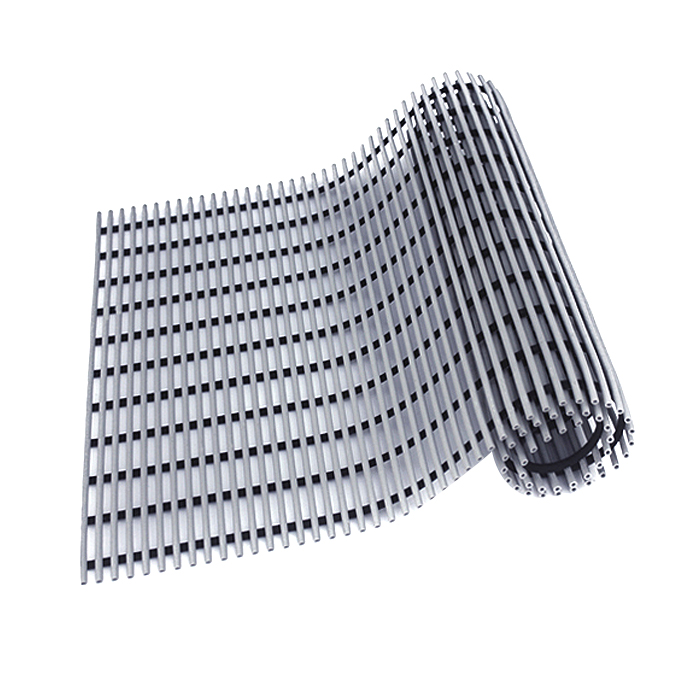 월광매트 고급형 미끄럼 방지 매트 90 x 150 cm, 회색, 1개