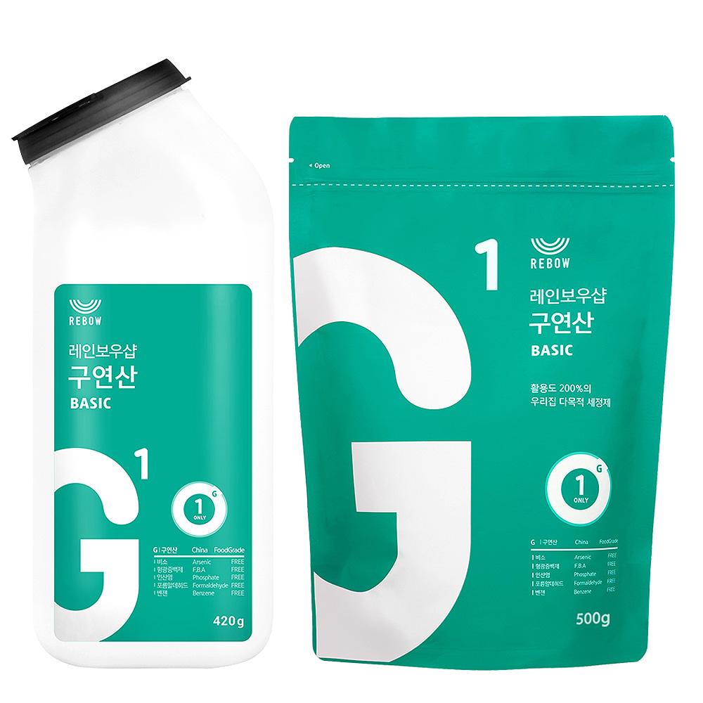 레인보우샵 구연산 톡톡이 리필세트, 1set