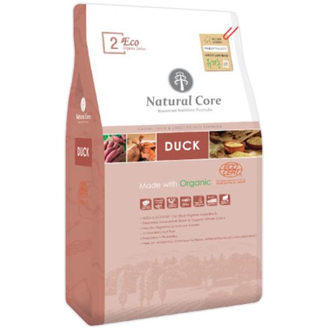 네츄럴코어 전연령 오리고기 ECO2 유기농 애견사료, 5kg, 1개