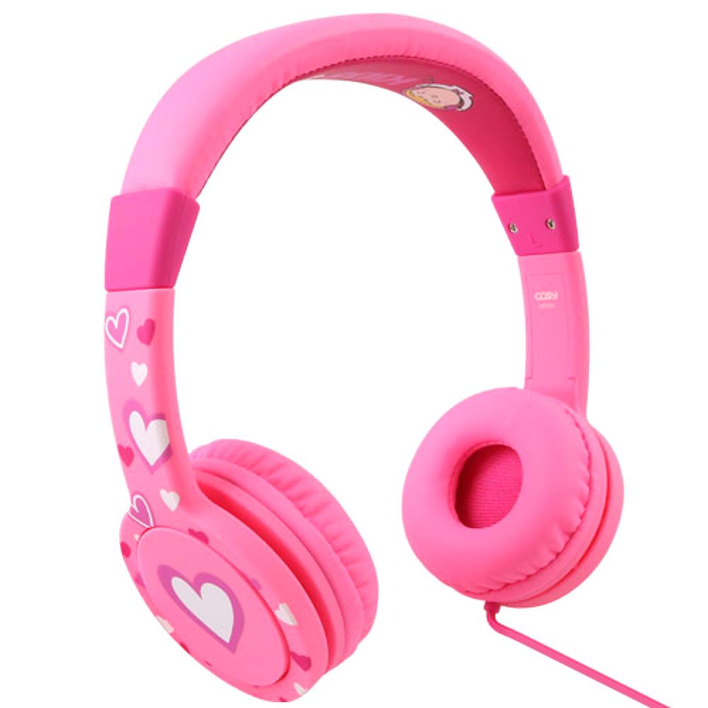 코시 롤리 청력 보호 헤드폰 HP3197, 핑크