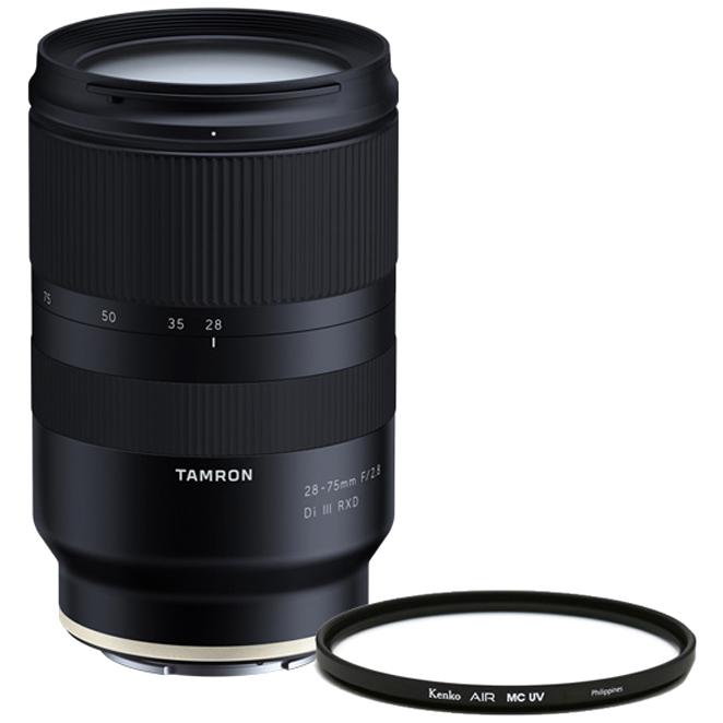 탐론 28-75 mm F/2.8 Di III RXD 소니FE렌즈 A036 + 겐코 Air MC UV 67 mm 필터, 렌즈(A036), 필터(AIR MC UV)