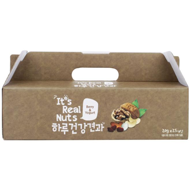 잇츠리얼넛츠 베리앤요거트 믹스넛, 20g, 25개입