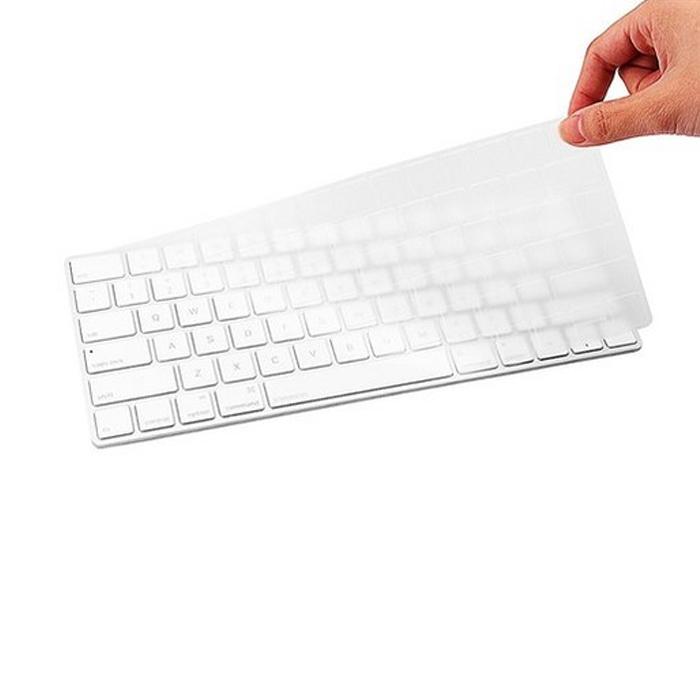 플럭스 애플 매직키보드2 충전형 투명 TPU 키스킨, 1개