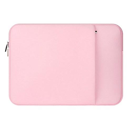 플럭스 네오프렌 파스텔 맥북 노트북 파우치 파우더 핑크