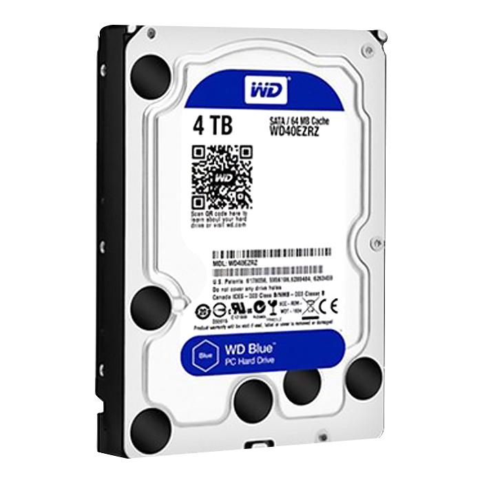 WD BLUE 3.5 HDD, WD40EZRZ, 4TB