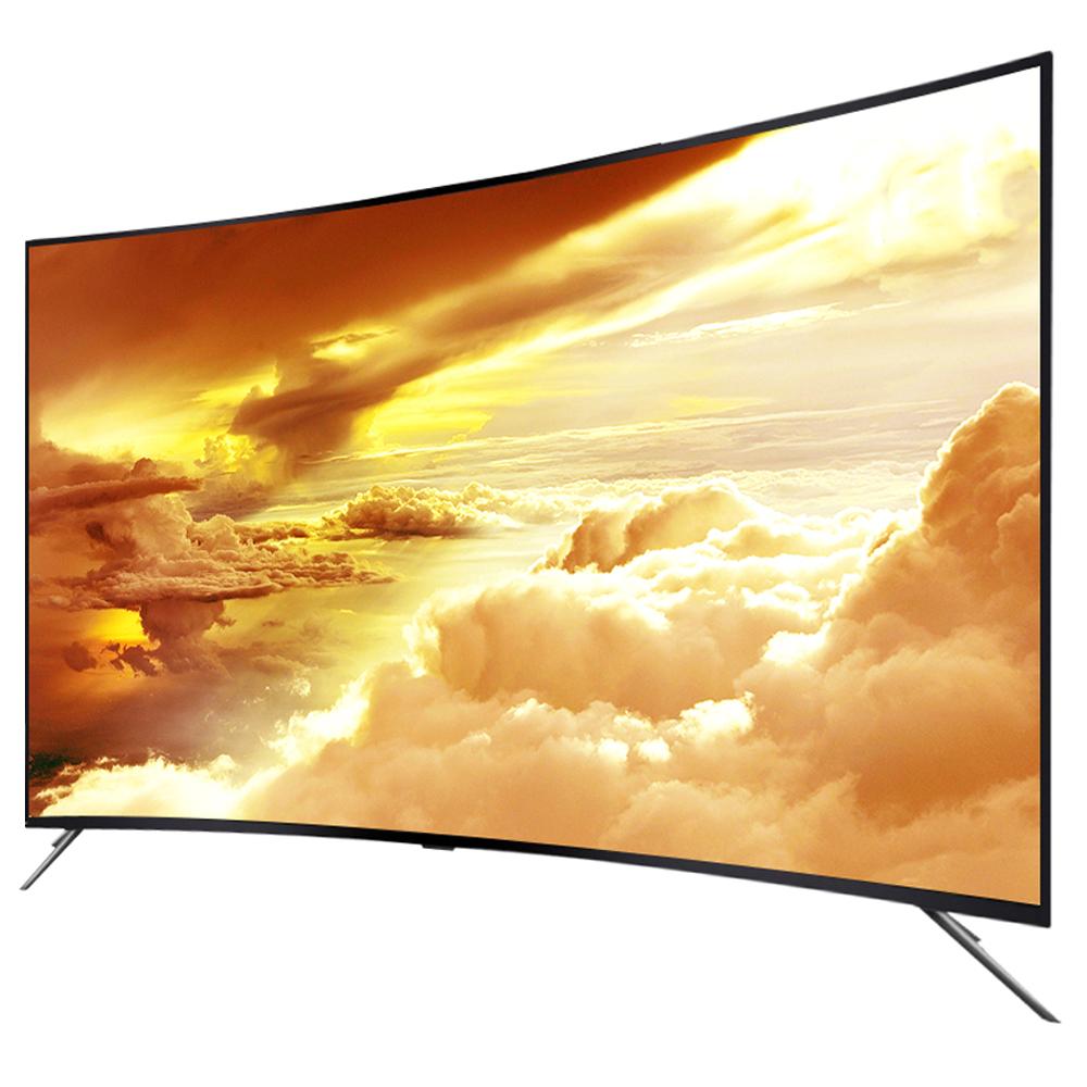 제네시스 55인치 커브드 UHD TV GENESIS5500DCU, 스탠드형