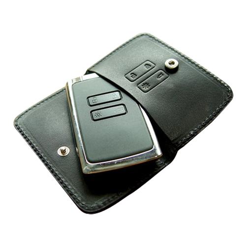 헤르만 르노 삼성 SM6 QM6 스마트키케이스 SC706 키홀더, 오리지널 블랙 (POP 28525022)