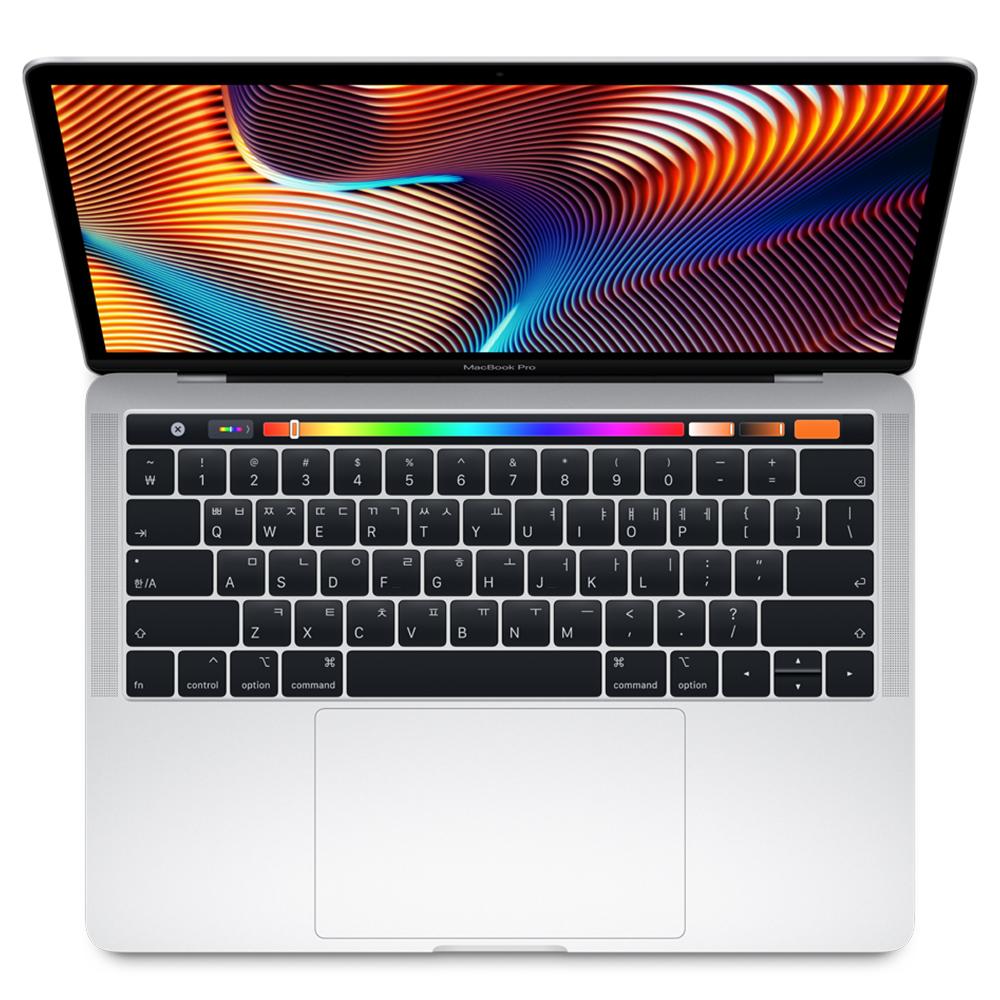 Apple 맥북 프로 터치바 13 MPXX2KH/A (i5-3.1Ghz dual-core 8G MAC OS SSD256G), 실버