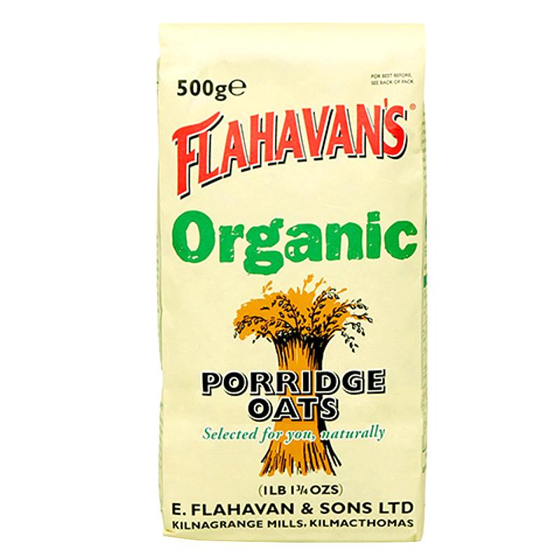 플라하반 포리지 오트밀, 500g, 1개