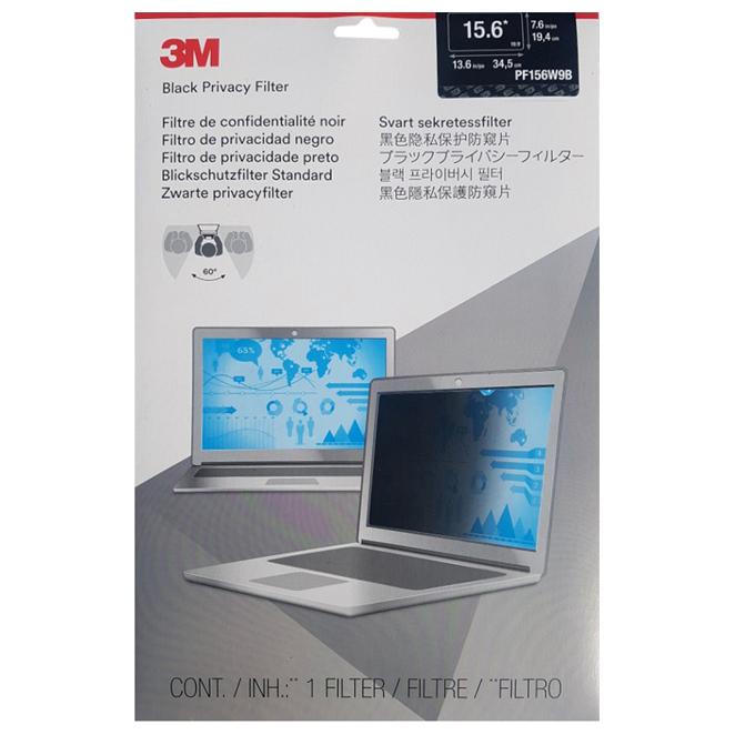 3M Privacy Filter 노트북 보안필름 PF15.6W9, 15.6in, 1개