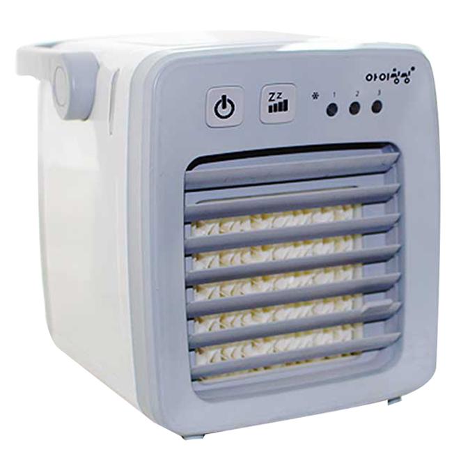컴프라이프 아이씽씽 미니 얼음 냉풍기 GRAY, CP005MA