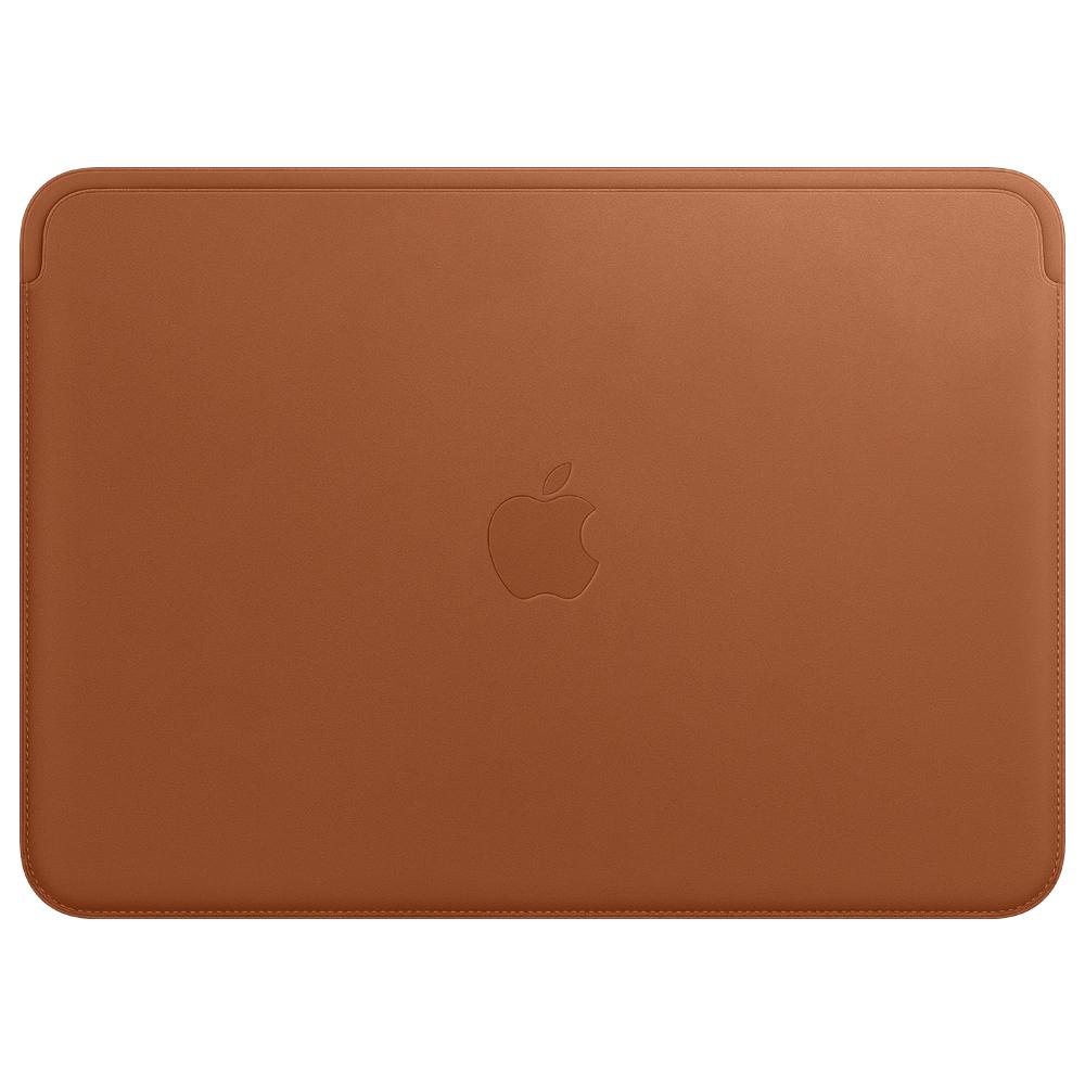 Apple 정품 가죽 슬리브 for 12 맥북, 새들 브라운(MQG12FE/A)