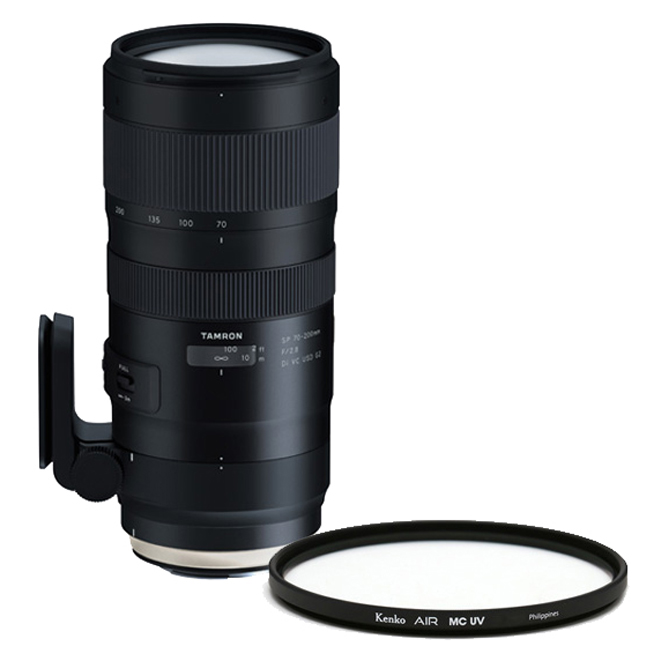 탐론 SP 70-200mm F/2.8 Di VC USD G2 A025 캐논렌즈 + 겐코 Air MCUV 77mm 필터, 캐논렌즈(A025), 필터(AIR MC UV)