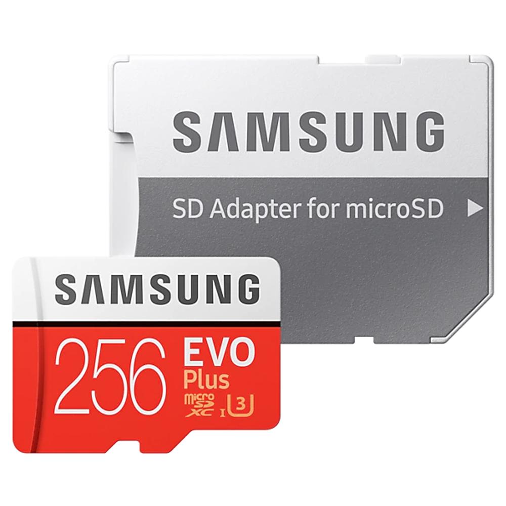 삼성전자 마이크로 SD 메모리 카드 MB-MC256GA/KR + 어댑터, 256GB