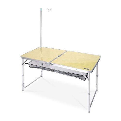로티캠프 접이식 1200폴딩 테이블 폴딩 우드무늬
