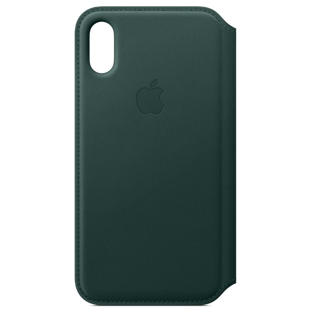 Apple 아이폰 XS 가죽 폴리오 케이스