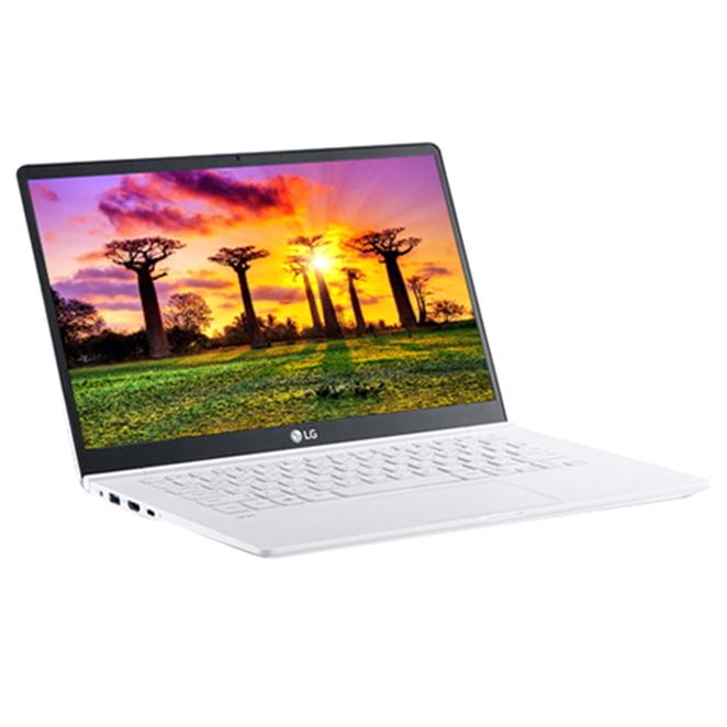 LG전자 그램14 노트북 14Z990-GA56K (i5-8265U 35.5cm WIN10 8G SSD512G), 스노우 화이트