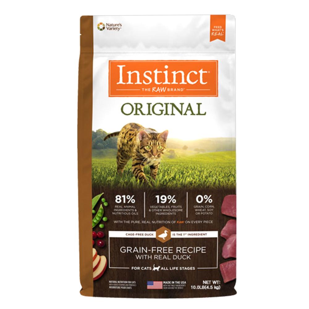 네이처스버라이어티 생식본능 오리지날 오리캣 고양이 사료, 4.5kg, 1개