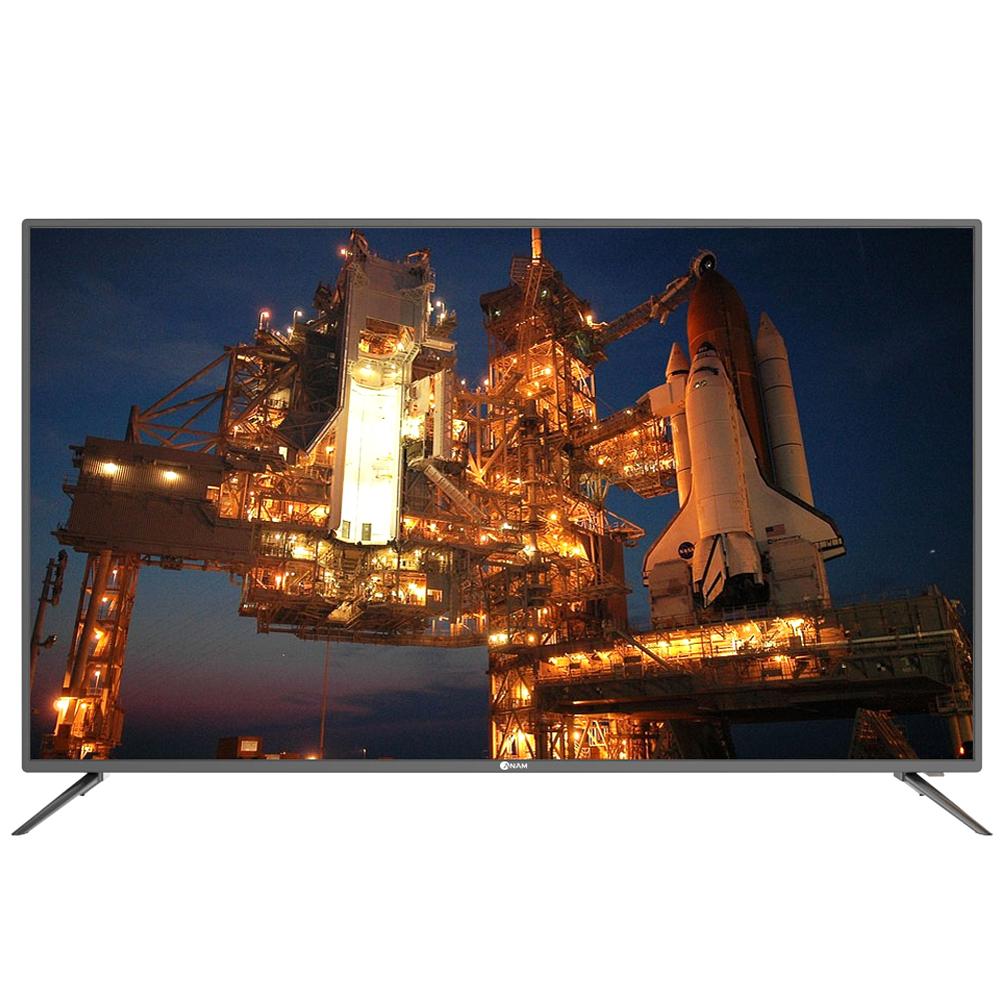 아남 UHD DLED 139.7cm TV ACD55U, 스탠드형, 자가설치