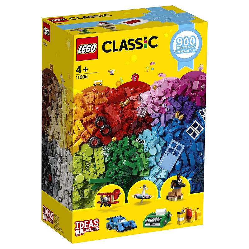 레고 클래식 창의력 발달 상자 완구 11005, 혼합 색상