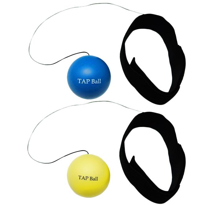 크리에이티브복싱 TAP볼 초보자용 + 복서용 세트, 블루, 옐로우