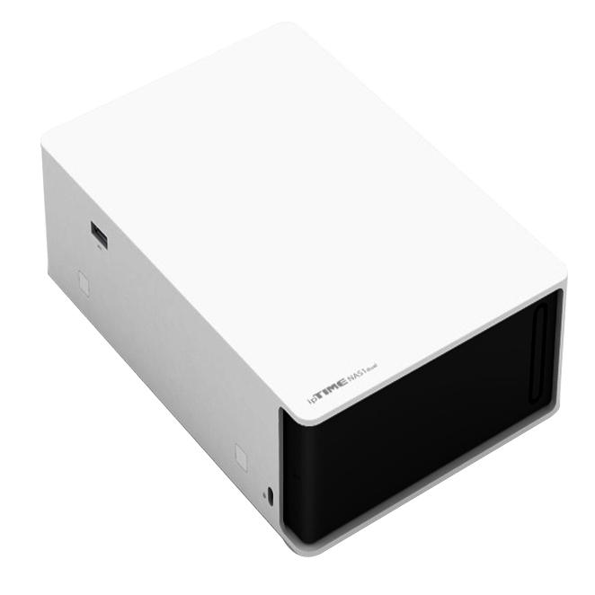 ipTIME 하드미포함 파일서버 장비 NAS1-DUAL, 단일 상품